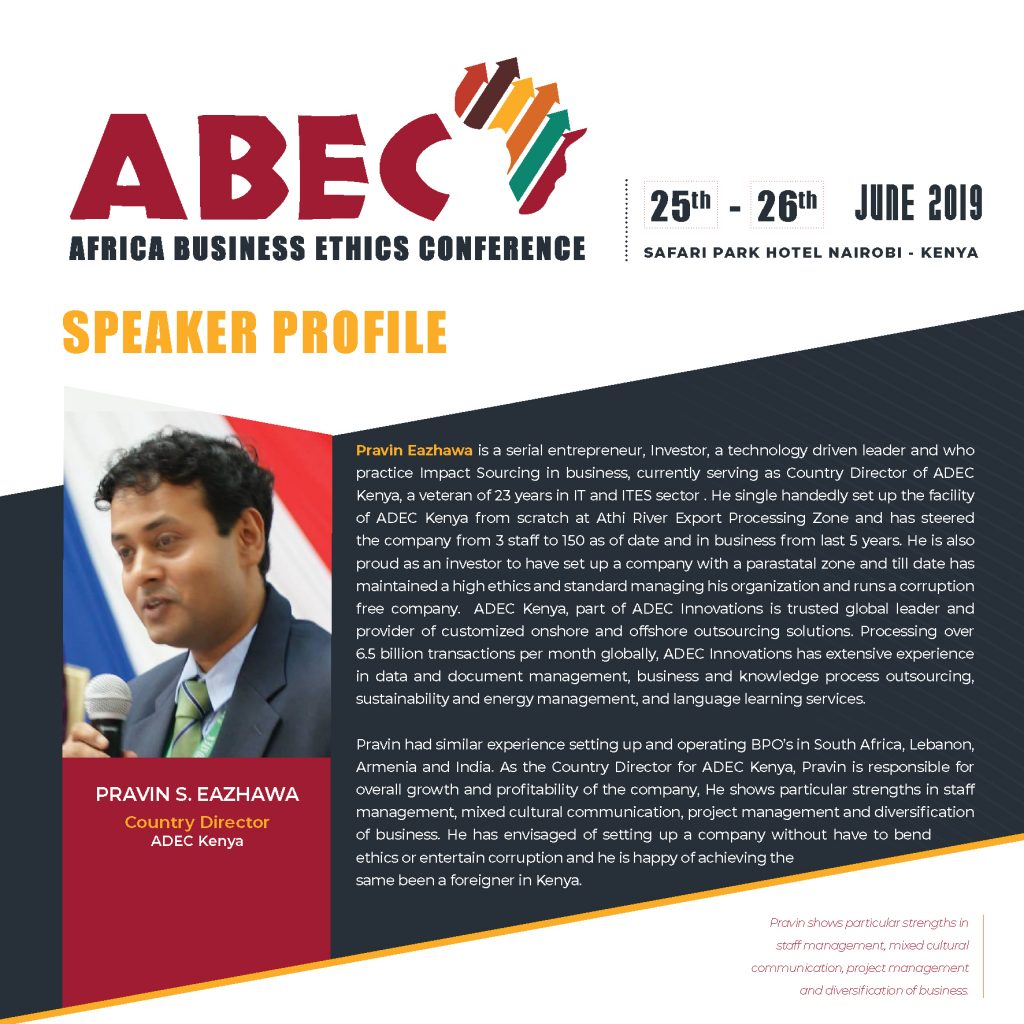Africa Business Ethics Conference – Africa Business Ethics